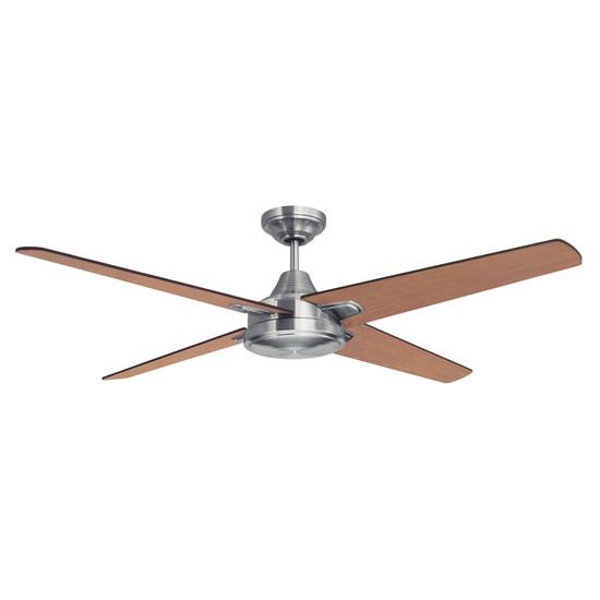 Mercator ciesta 130cm nickel motor timber blade ceiling fan galaxy image 1 aloadofball Choice Image