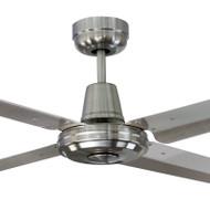 Mercator Swift 130cm B/Chrome & 304 Stainless Fan