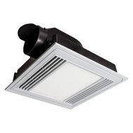 Briliant Tercel White Exhaust Fan & 13w LED Light