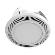 Mercator Ultraline White Exhaust Fan & 12w LED Light
