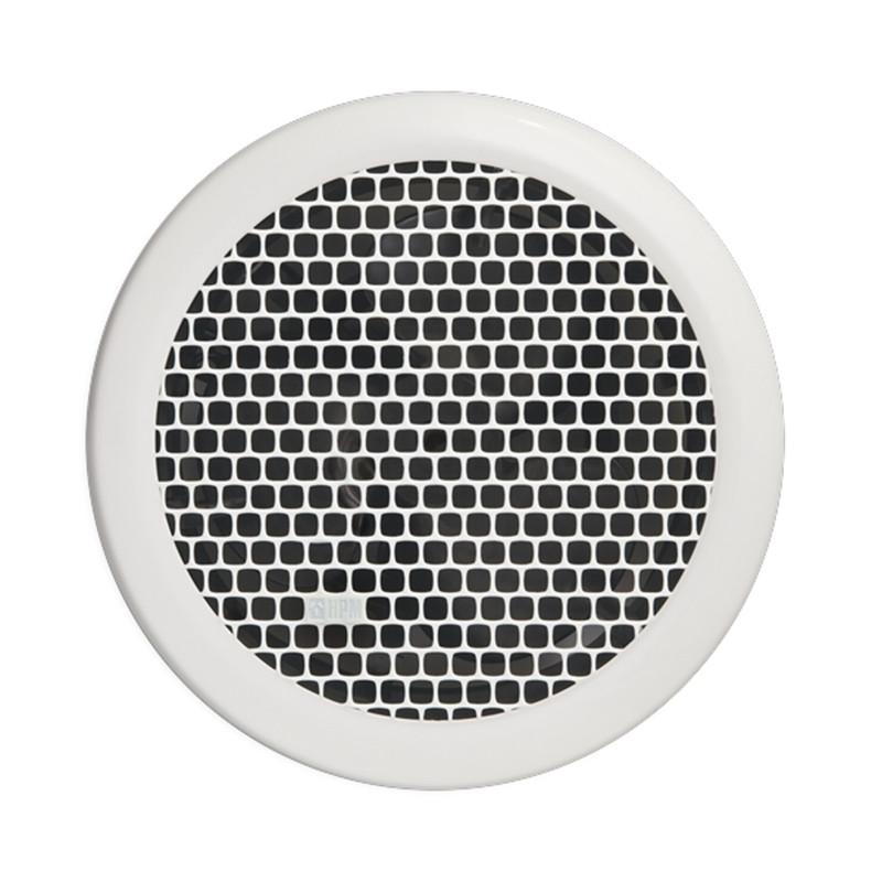 Exterior High Volume Fan : Hpm basic high volume mm round white exhaust fan