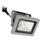 Mercator Lorne 15w 5500K LED Flood Light Silver