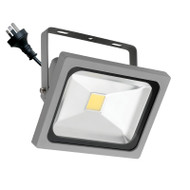 Mercator Lorne 30w 5500K LED Flood Light Silver