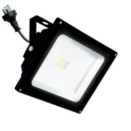 Brilliant Avenger 20w 4200K LED Flood Light Black