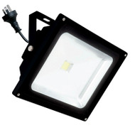 Brilliant Avenger 30w 4200K LED Flood Light Black