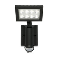Mercator Corbo 24w 4000K LED Flood Light & Sensor Black