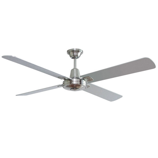 Hunter pacific typhoon 122cm silver timber ceiling fan galaxy lighting image 1 aloadofball Image collections