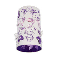 Mercator Butterfly DIY Ceiling Batten Fix Light Purple