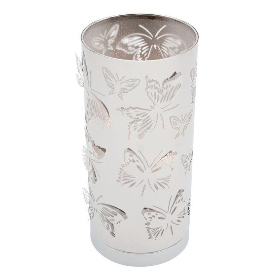 Mercator Butterfly Touch Lamp Chrome Galaxy Lighting