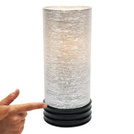 Mercator Tulip Touch Lamp Black