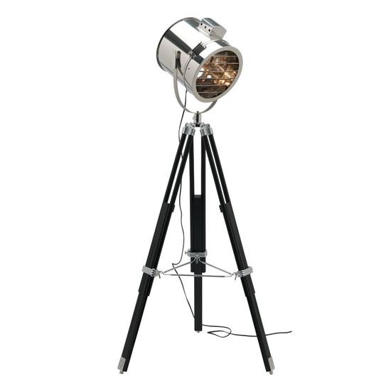 Mercator bentley studio floor lamp black chrome galaxy lighting image 1 mozeypictures Images
