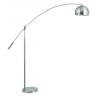 Brilliant Scope Reading Floor Lamp Brushed Chrome