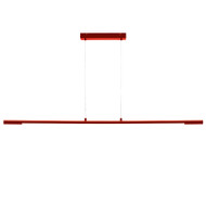 Mercator Nimbus 14.4w LED Hanging Pendant Red