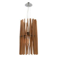 Mercator Madagascar Large Timber Hanging Pendant