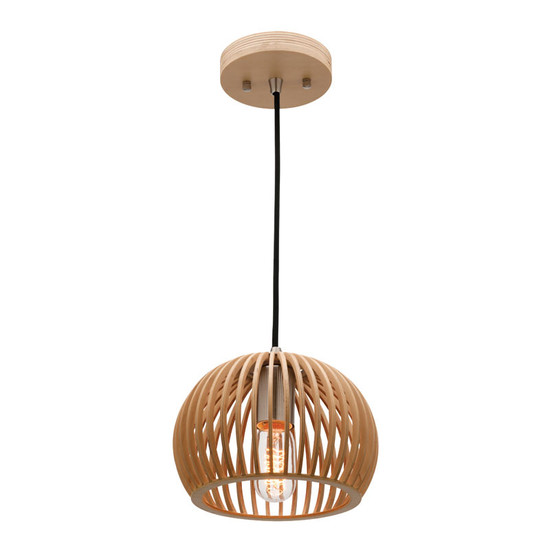 Mercator cuzco timber hanging pendant small galaxy lighting image 1 aloadofball Image collections