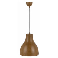 Telbix Costino Timber Look Hanging Pendant Teak