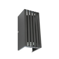 Mercator Barton GU10 Exterior Up/Down Wall Light Black