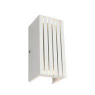 Mercator Barton GU10 Exterior Up/Down Wall Light White