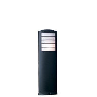Mercator Elco Small Black Garden Bollard