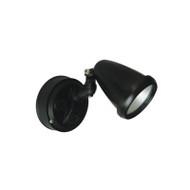 Telbix Titan 1 X 6w LED Exterior Spotlight Black