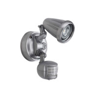 Telbix Titan 1 X 6w LED Exterior Spotlight & Sensor Nickel