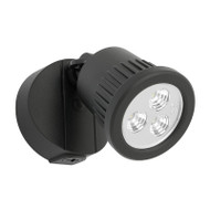 Mercator Ritz 1 X 9w LED Exterior Spotlight Black