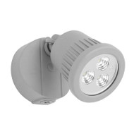 Mercator Ritz 1 X 9w LED Exterior Spotlight Silver