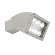 Mercator Zone 1 X 12w LED Exterior Spotlight Silver