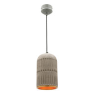 Mercator Moscow Concrete & Gold Hanging Pendant