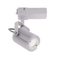 Mercator Mast Dimmable 10w LED Track Head Silver