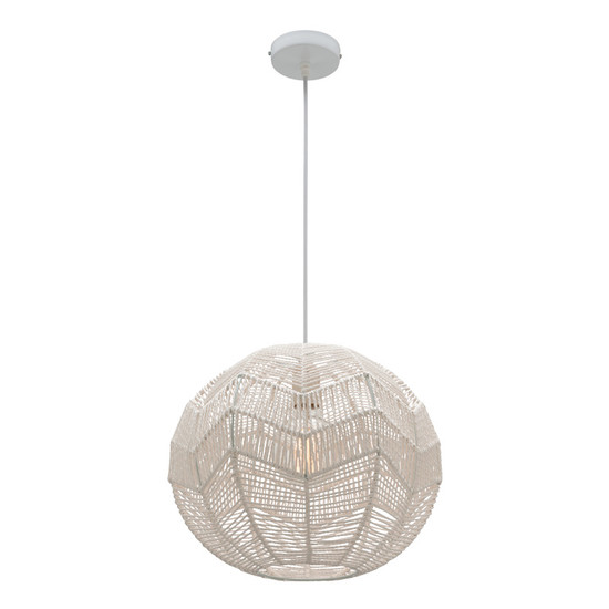 Image 1  sc 1 st  Galaxy Lighting Cairns & Mercator Bonnie Paper Yarn Hanging Pendant Small - Galaxy Lighting