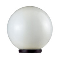 Domus Sphere Garden Post Top Only 300mm