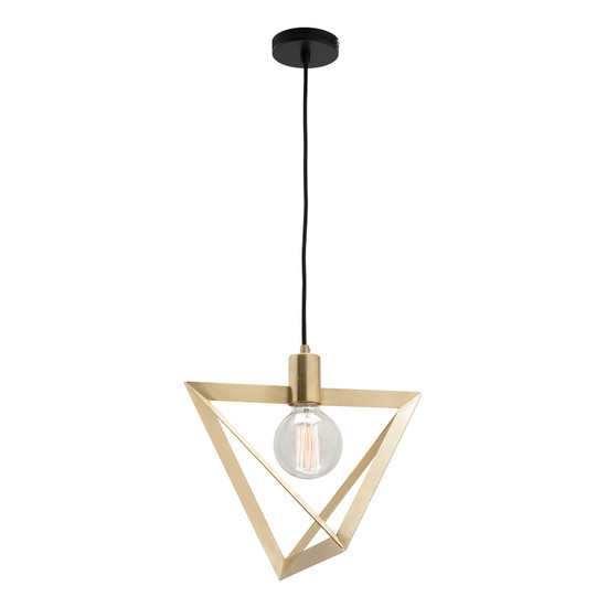 Mercator theresa 1lt brushed brass hanging pendant galaxy lighting image 1 aloadofball Image collections