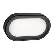 Mercator Arena Small LED Exterior Wall Light Black