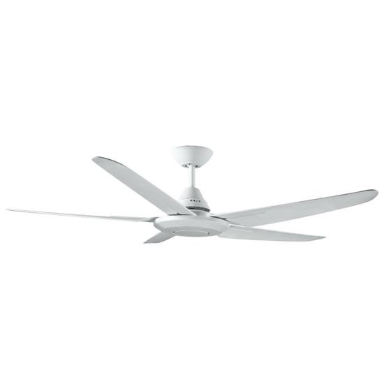 Deka randle 130cm white plastic indooroutdoor ceiling fan galaxy image 1 aloadofball Choice Image