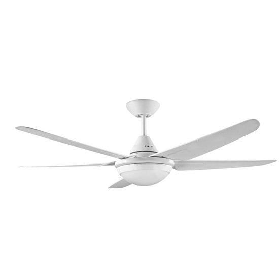 Deka randle 130cm white plastic indooroutdoor ceiling fan led image 1 aloadofball Gallery