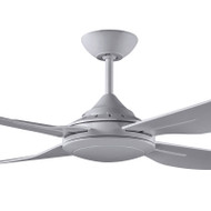 Deka Ingram 130cm Silver Plastic Indoor/Outdoor Ceiling Fan