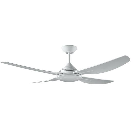 Deka ingram 130cm white plastic indooroutdoor ceiling fan galaxy image 1 aloadofball Image collections