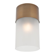 Mercator Anna DIY Ceiling Batten Fix Light Aged Brass