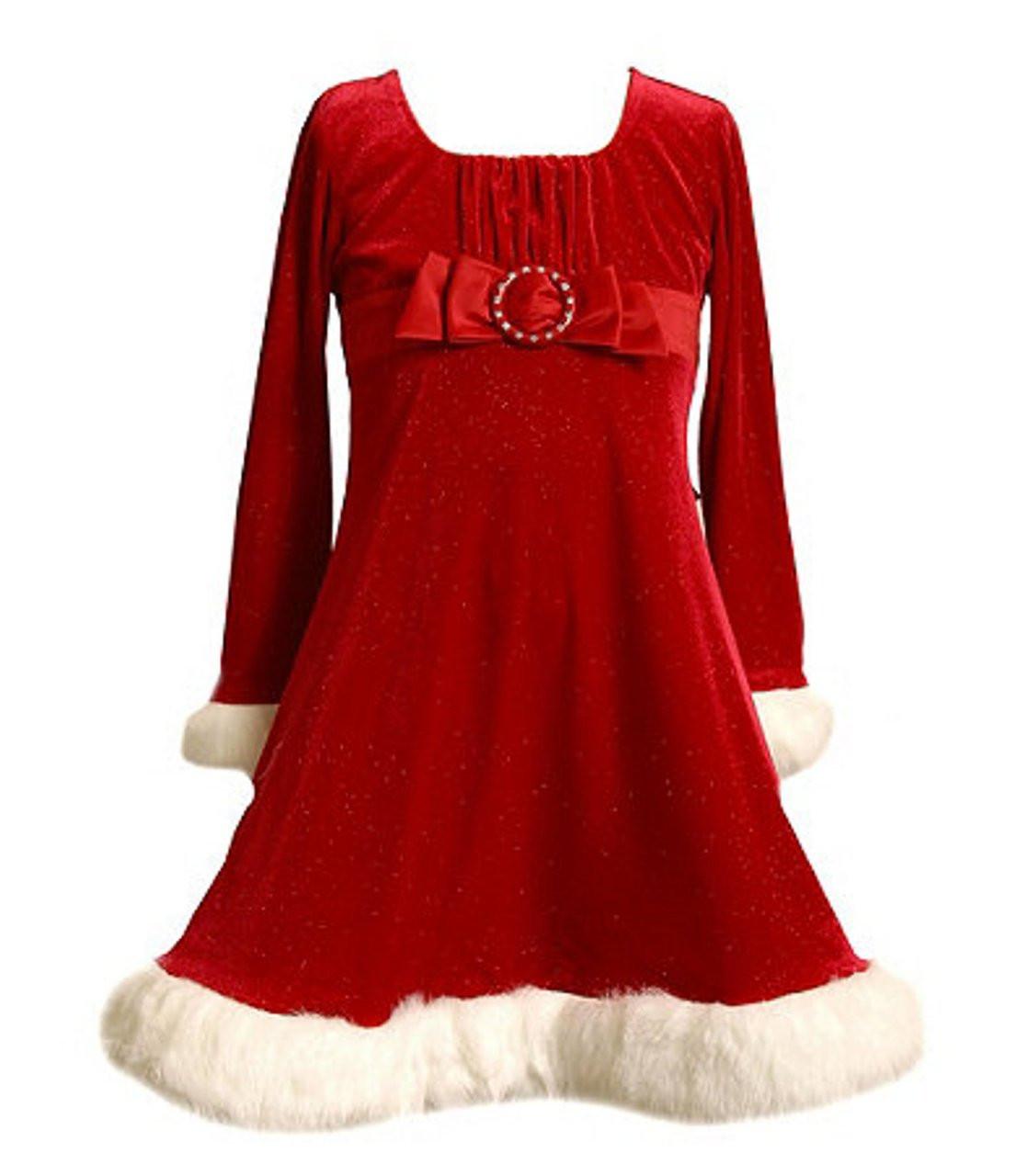 Red Christmas Dresses For Girls - Dada Dresses