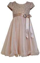 Bonnie Jean Big Girls Special Occasion Lace & Chiffon Dress 7-16 ...