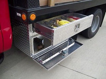 Brute Heavy Duty Top Drawer/Bottom Door Underbody Tool Boxes