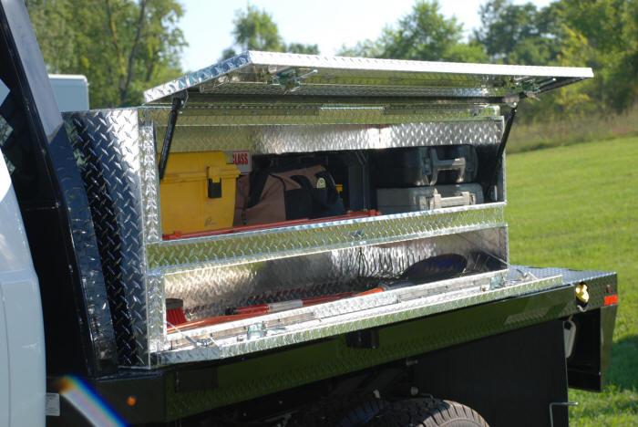 Pick Up Truck Below Bed Storage Box
