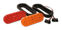 "6.5"" Sealed Oval LED Turn/Stop Light Kits"