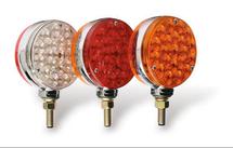 "4"" Round LED Pedestal Light Set"