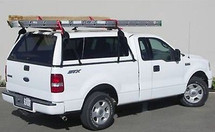 No Drill Truck Cap Ladder Rack