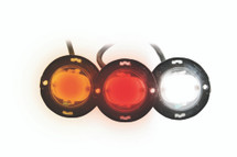 "1"" Round Professional Quality LED High Power Strobe Lights"