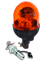 Pole Mount Amber Rotating Beacon Light