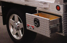 Brute Heavy Duty Under Body Boxes With Single Drawer