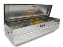 Integrated & adjustable sliding tool tray included